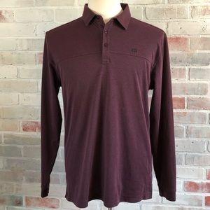 Travis Mathew Golf Polo Shirt Long Sleeve